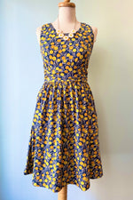 Asheville Dress in Citrine by Mata Traders