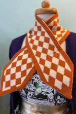 Lucy Diamond Scarf in Orange by Collectif