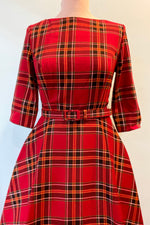 Suzanne Berry Check Dress by Collectif