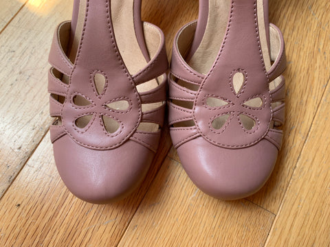 Memories Heel in Mauve by Chelsea Crew