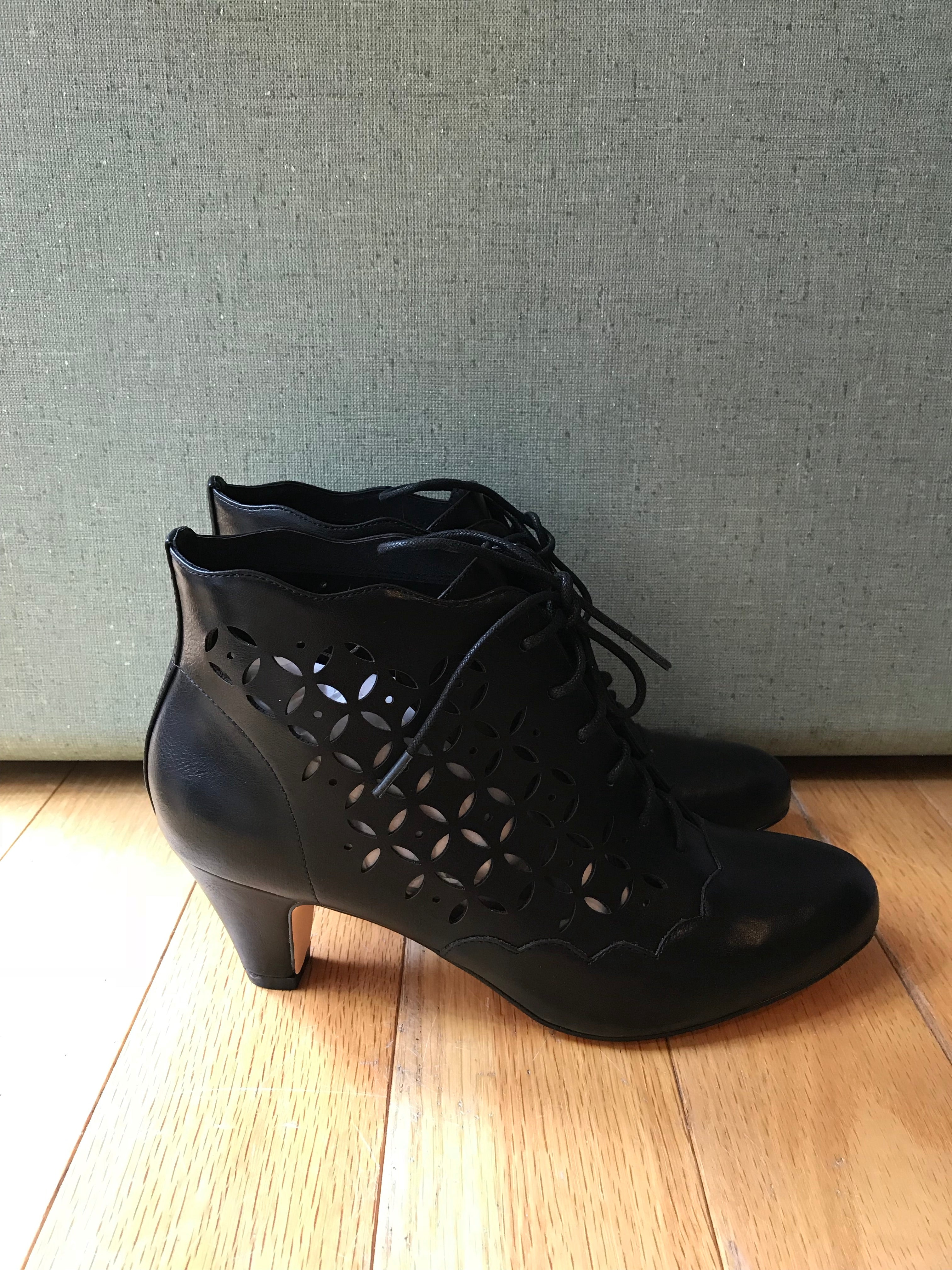 Illusion Bootie in Black by Chelsea Crew