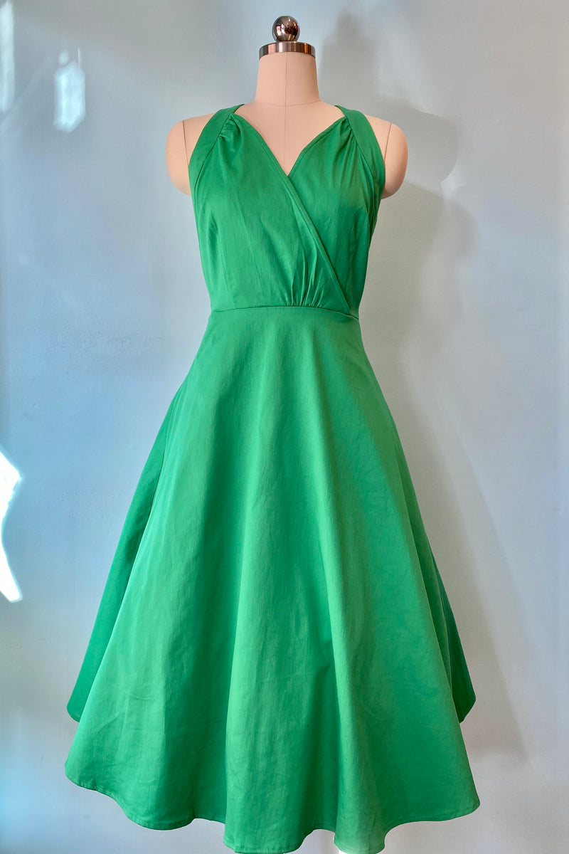 Hadley Dress in Green by Collectif