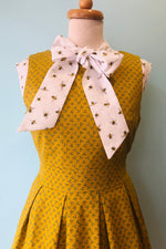 Bee Bow Top by Retrolicious
