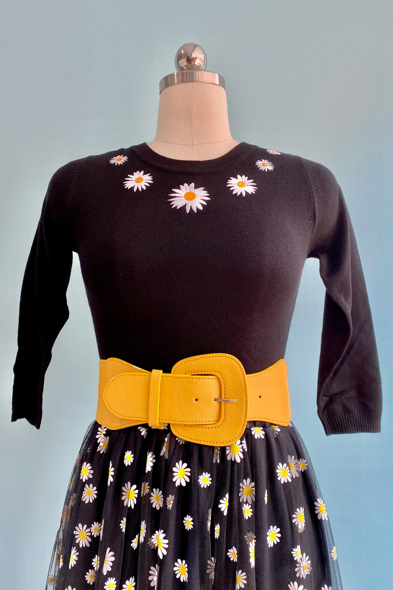 Sydney Daisy Pullover Sweater by Bright and Beautiful