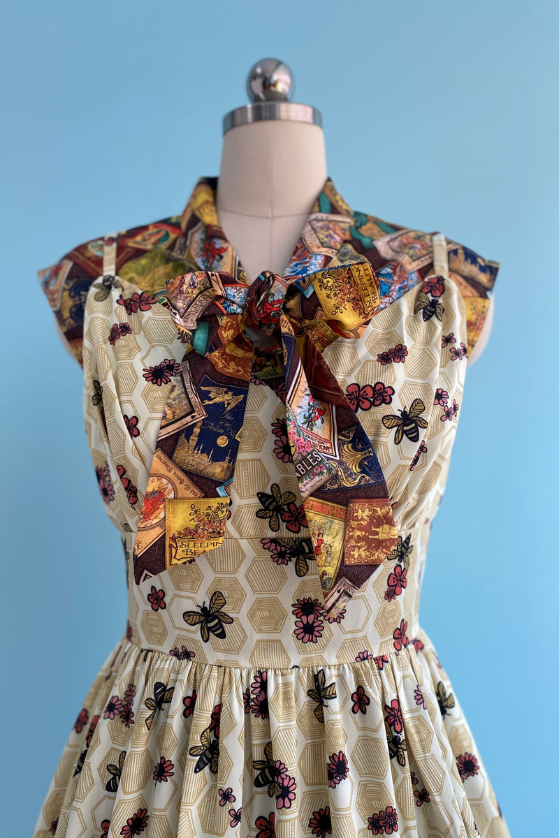 Fairytale Books Bow Top by Retrolicious