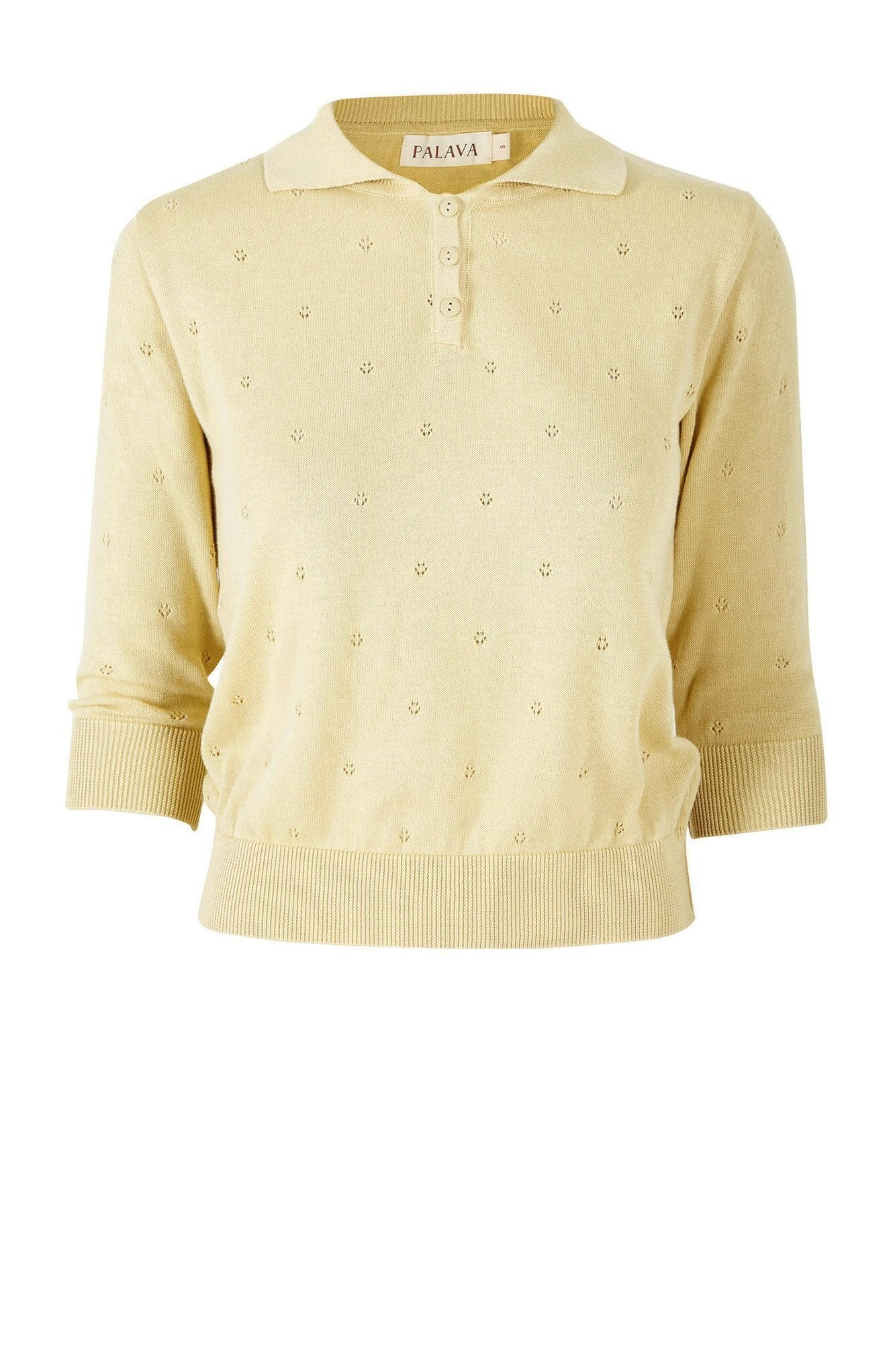 Lemon Organic Cotton Spring Sweater by Palava