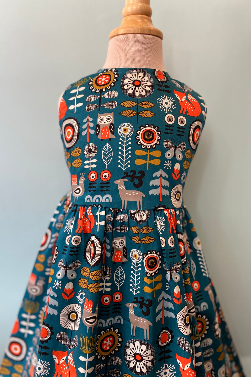 Kids Woodland Fox Dress by Eva Rose