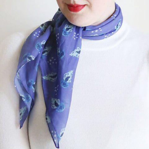 Erstwilder Slippin' Under Jellyfish Scarf
