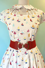 Colorful Sailboat Wilson Dress