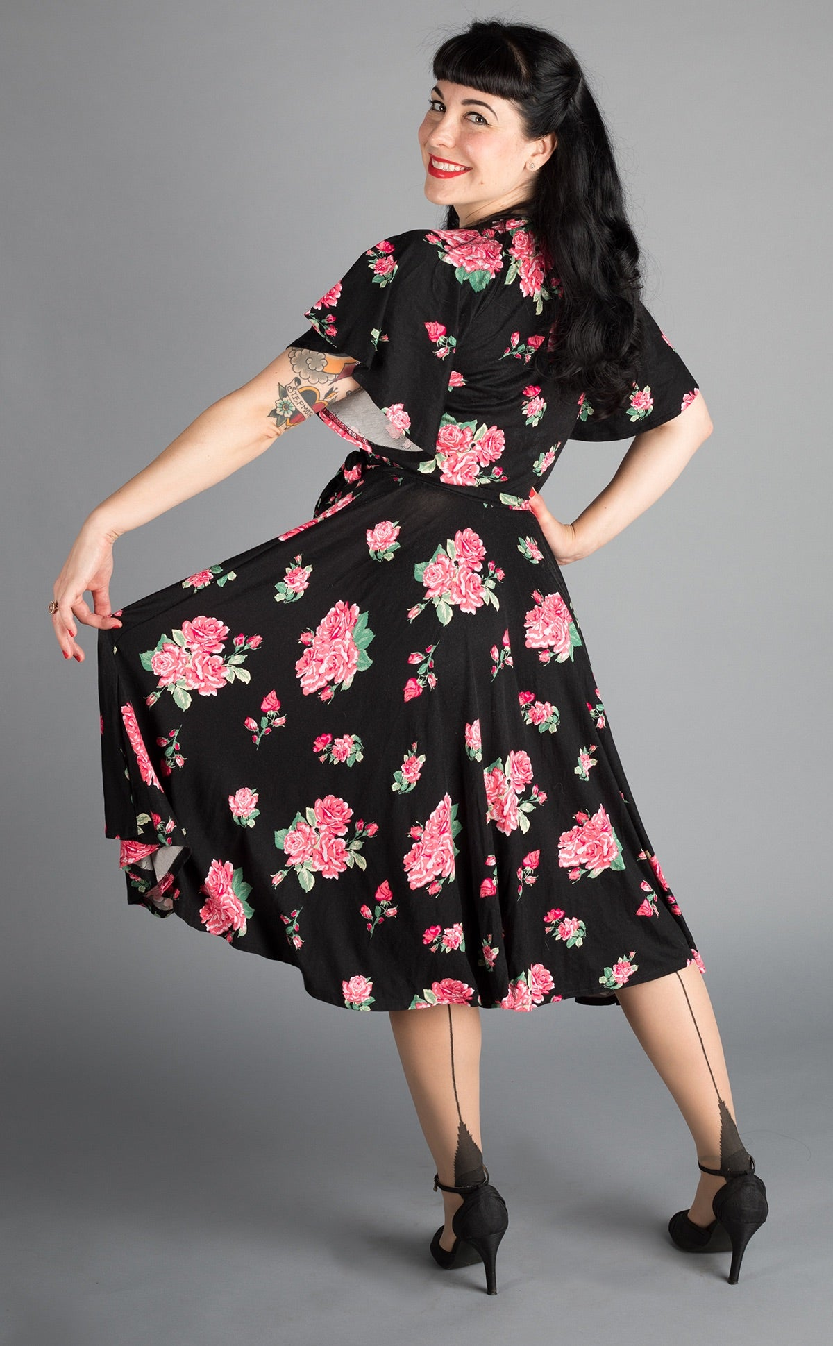 Pink Bouquet Aurora Dress by Wax Poetic