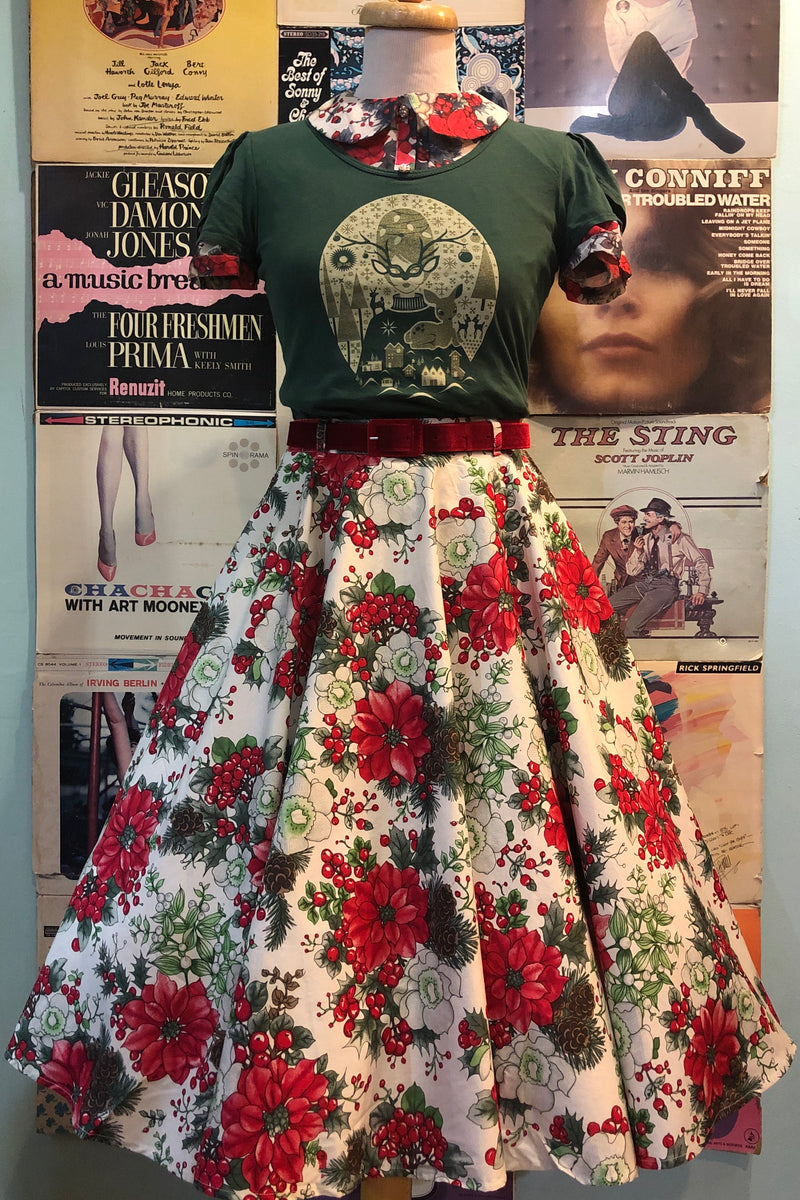 Jennie Holiday 50's Skirt by Hell Bunny