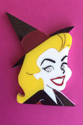 Samantha Bewitched Brooch by Daisy Jean Florals