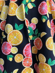 Citrus Skirt in Black by Eva Rose