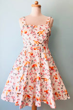 Fox Floral Fold-Over Dress by Eva Rose
