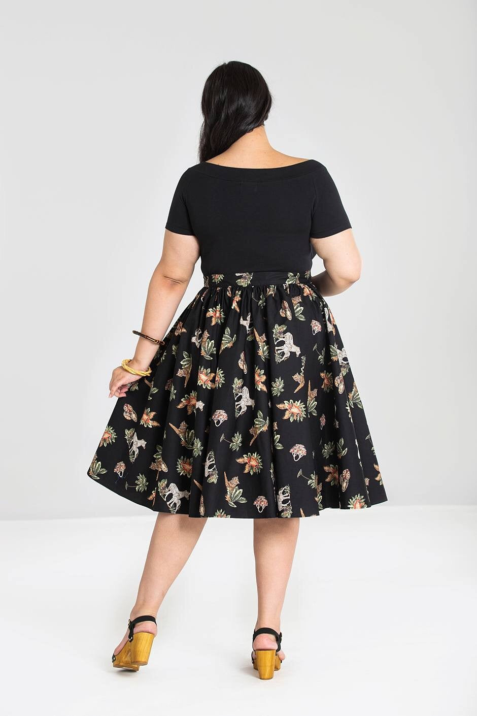 Messina 1950's Skirt by Hell Bunny