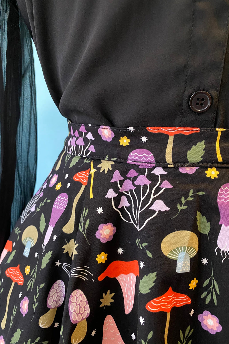 Mushroom Full Skirt by Eva Rose