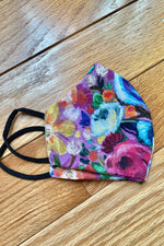 Cloth Face Mask in Reversible Prints by Retrolicious