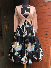 Peggy Dress in Fisherman's Wharf by Retrospec'd