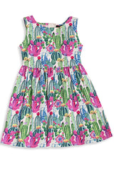 Cactus Kids Dress by Retrolicious