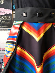 Starlet Overlay in Multi-Color Stripe by Lady De