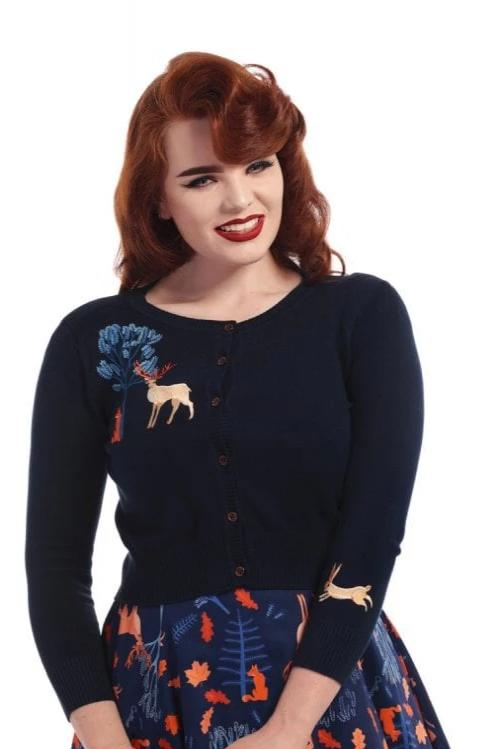 Forest Friends Jessie Cardigan by Collectif