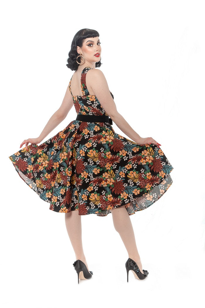 Mad for Maui Dress in Tiki Floral by Rebel Love