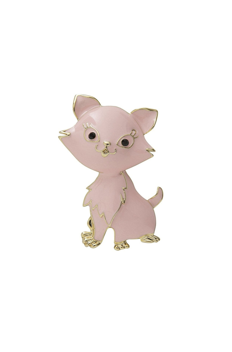 Marie Cat Brooch by Collectif