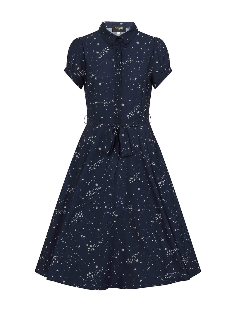 Mary Grace Zodiac Constellation Dress by Collectif