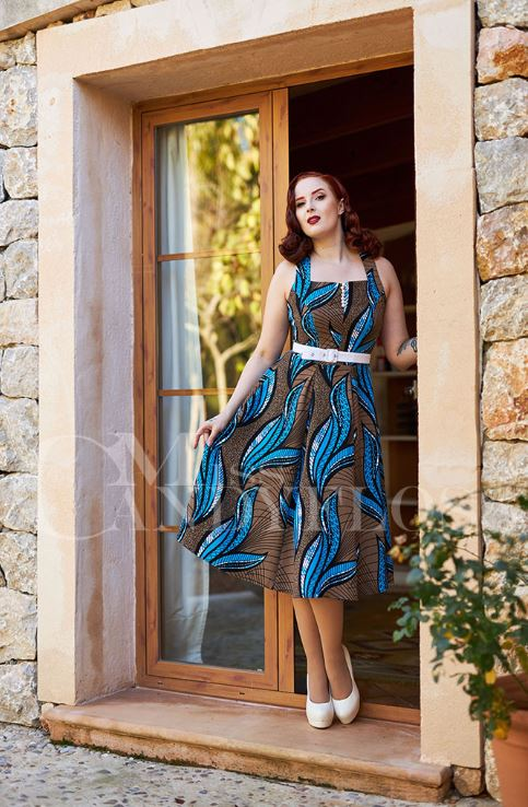Baran-Blue Dress by Miss Candyfloss