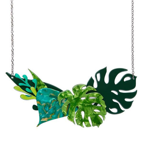Fronds of Fancy Large Necklace by Erstwilder