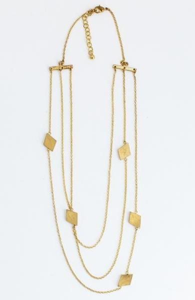 Nadia Necklace in Gold by Mata Traders