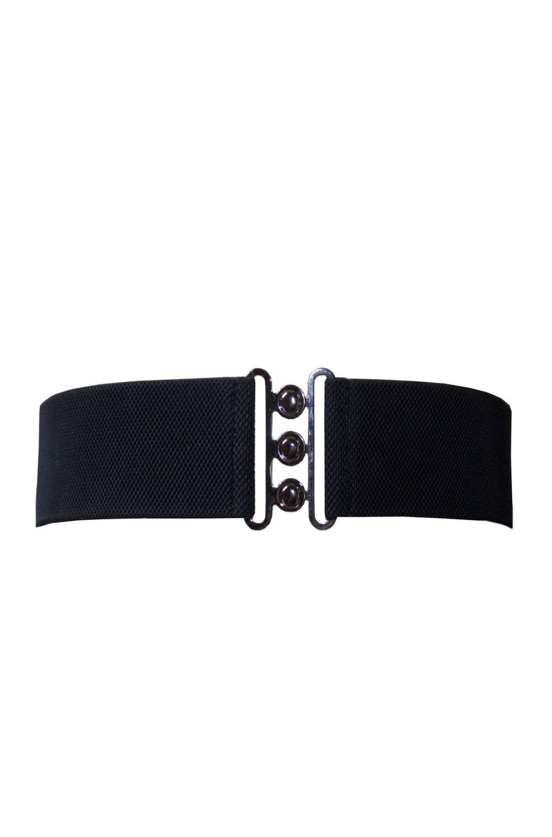 Black Nessa Cinch Belt by Collectif