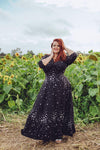 Raquel Maxi Dress in Stars by Wax Poetic