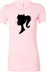 Pretty Kitty Tee in Pink by Kittees