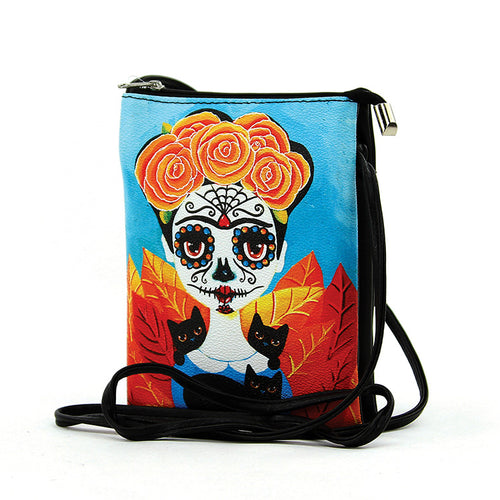 Sugar Skull Frida Cross-body Bag