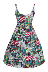 Flower Market Fifi Dress by Retrospec'd