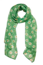 She Loves Me Daisy Large Neck Scarf by Erstwilder