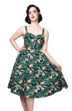 South Seas Dress in Tropical Coconut by Rebel Love