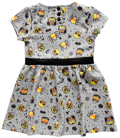 Candy Cornies Girls Dress by Sourpuss