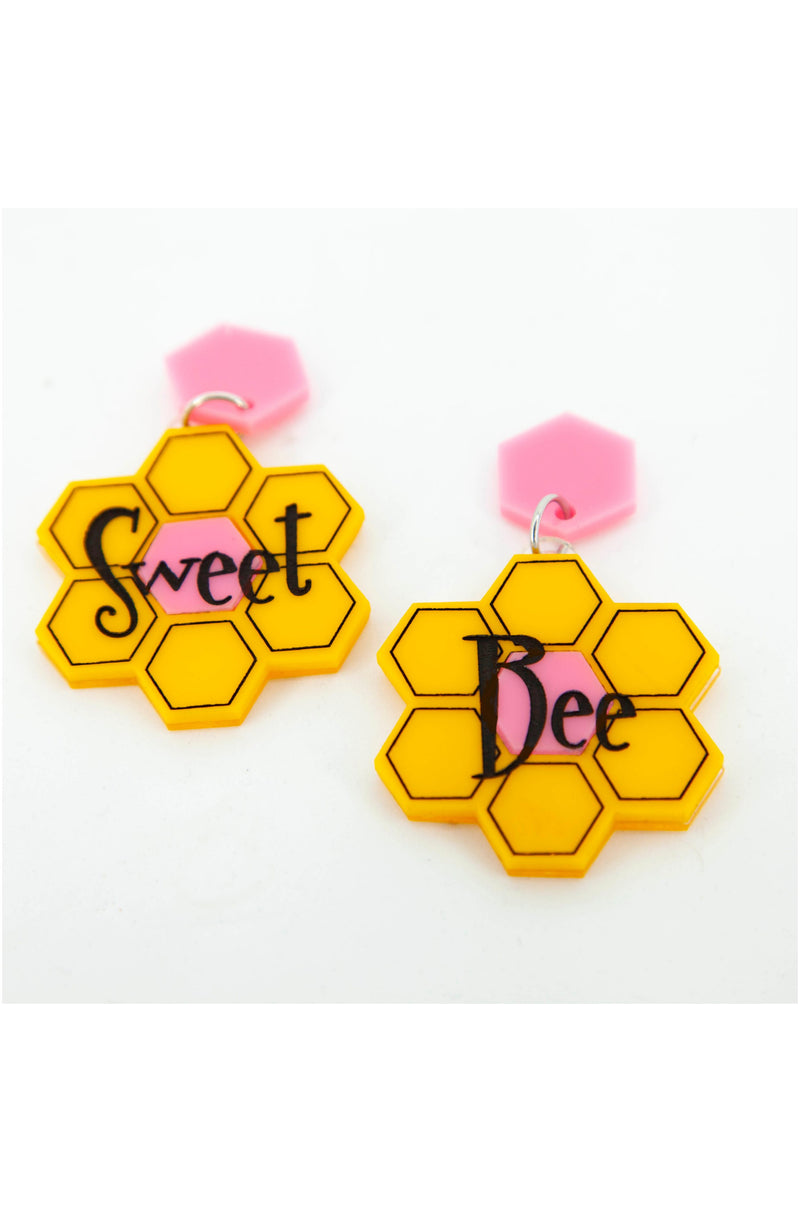 Bee Sweet Earrings by Daisy Jean