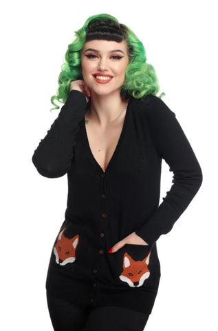 Sydney Foxy Cardigan by Collectif