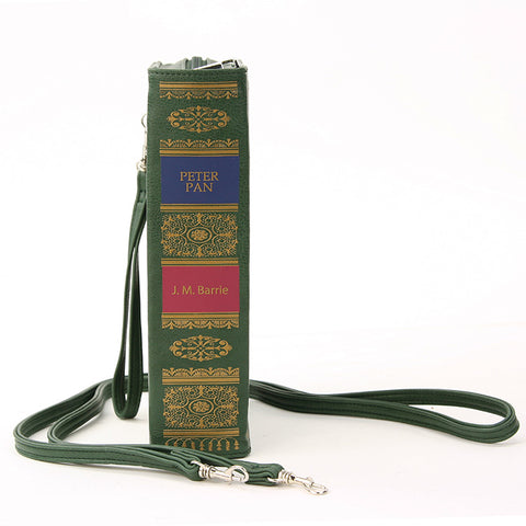Peter Pan Book Cross-body Bag in Green