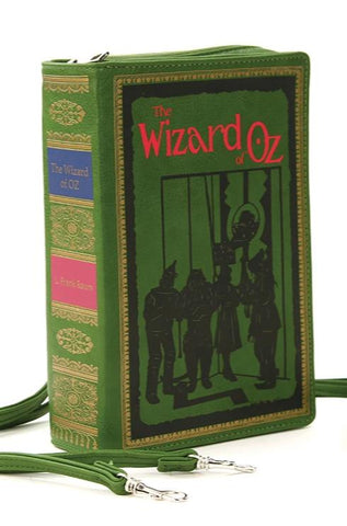 Wizard of Oz Book Cross-body Bag in Green