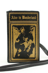 Alice in Wonderland Book Cross-body Bag