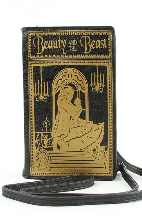 Beauty & The Beast Book Cross-body Bag