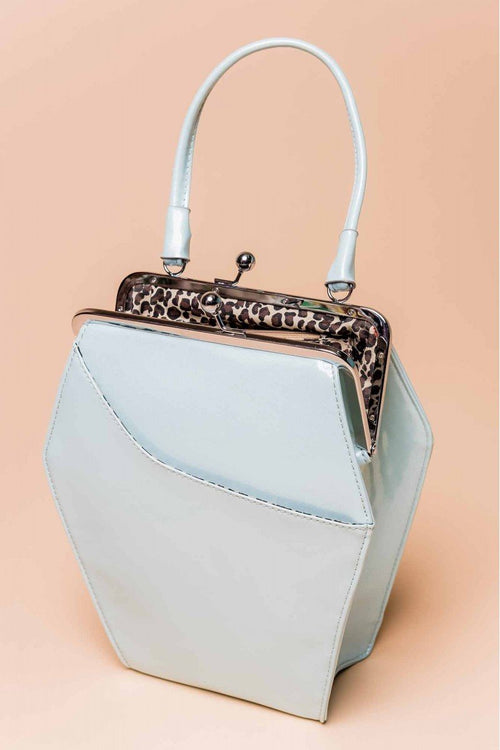 To Die For Purse in Blue Glitter