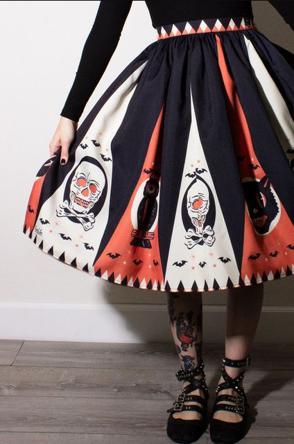 Halloween Treat Skirt by Oblong Box Shop