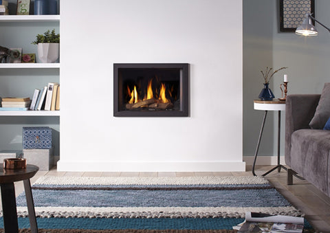 Dru Gloabl 55 xt balanced flue gas fire, hole in the wall modern fore, blazes fire surrounds, gateshead, Newcastle