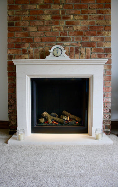 Gazco Riva 750 with bespoke custom surround