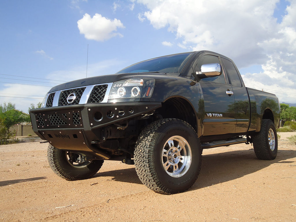 customs nissan main products paradise add bumper front titan venom